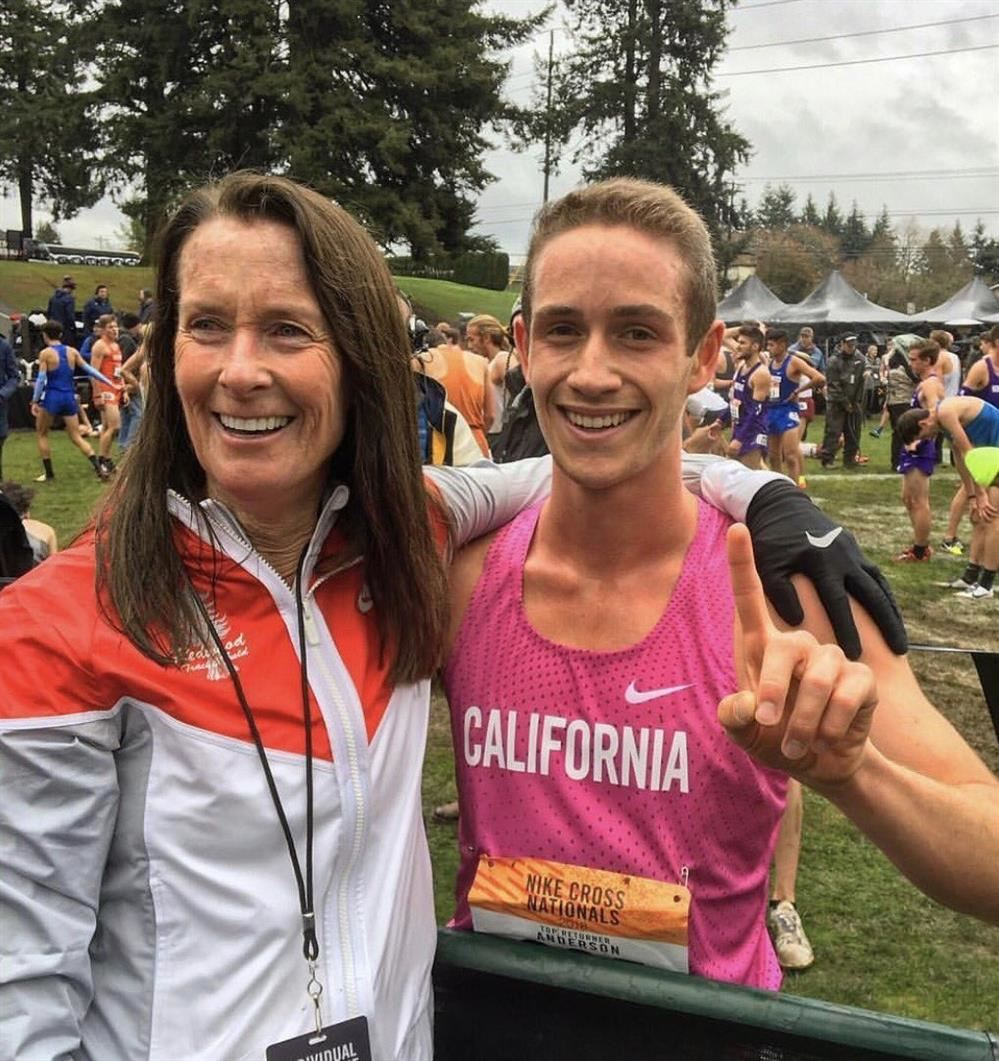 Liam Anderson (Redwood HS) Nike National Cross Country Champion