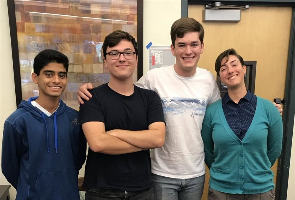 Redwood HS 2019 National Merit Scholarship Semifinalists