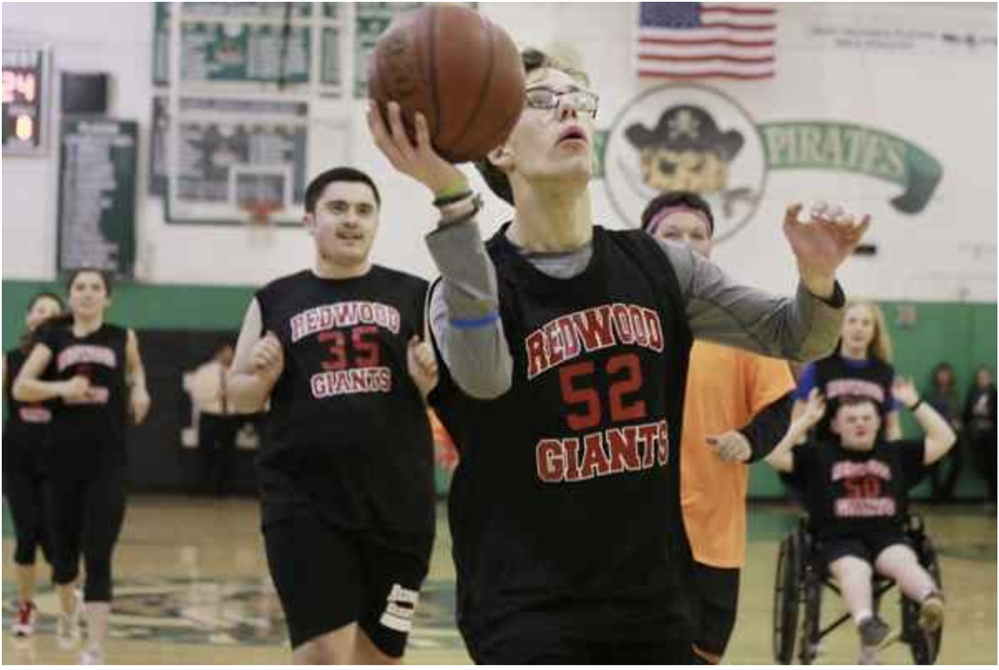 Players Shine at Marin's First Unified Basketball Tournament