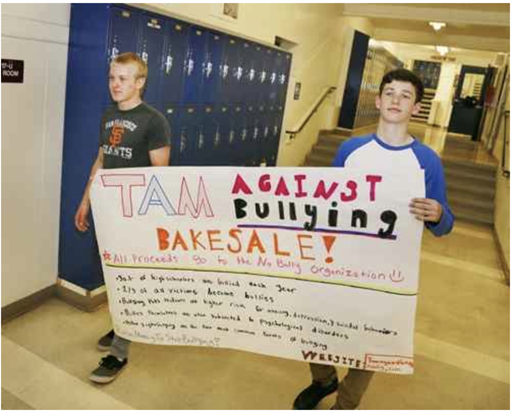 Tam Students Seek Action Against Bullying
