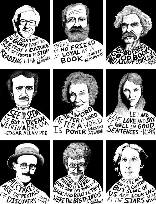 9 Literary Giants