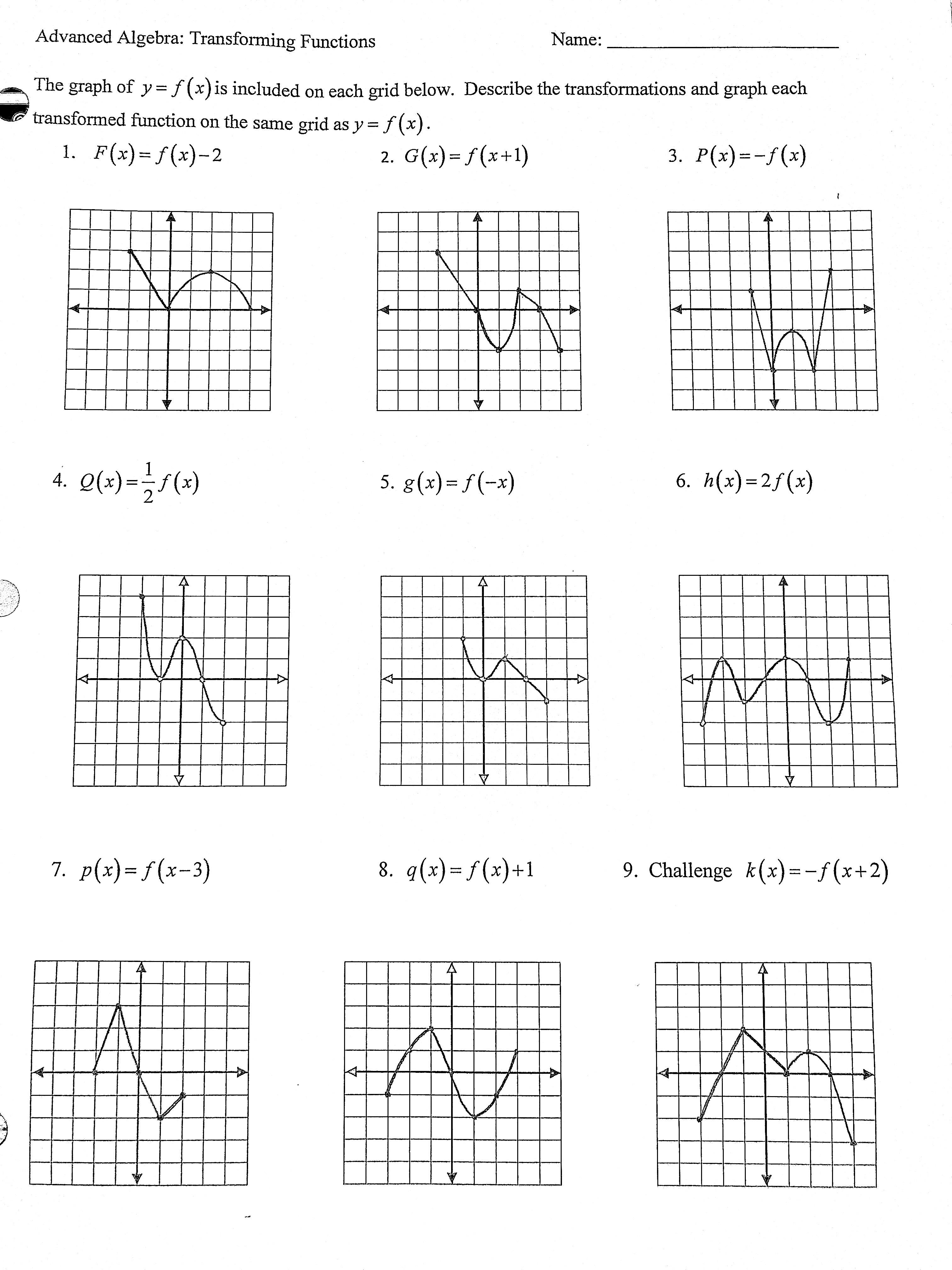 Detore Grace Adv Algebra