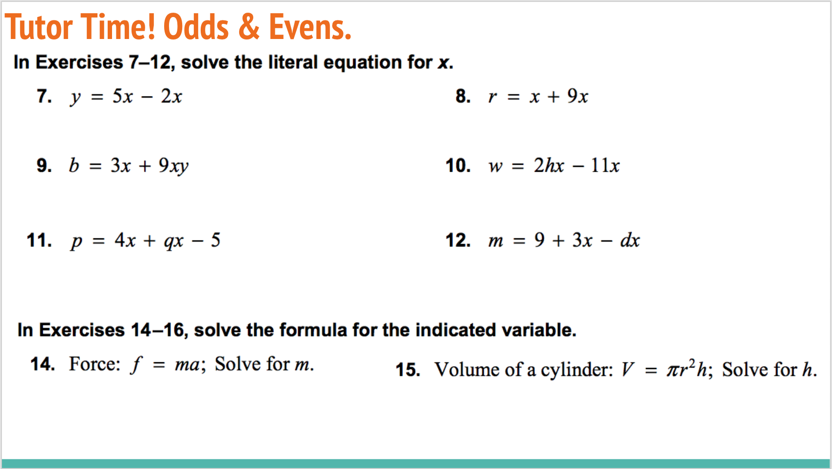 Nelson Functions 11 Solutions Chapter 8