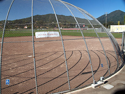 Redwood Dutra softball field