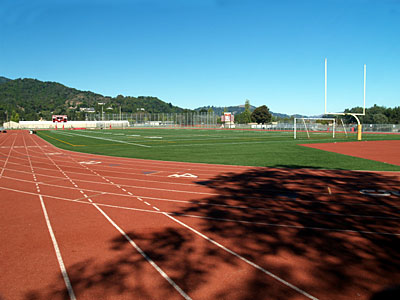 Redwood football field & track