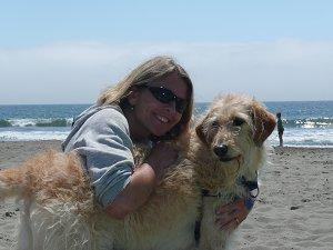 Judy & her dog Nani