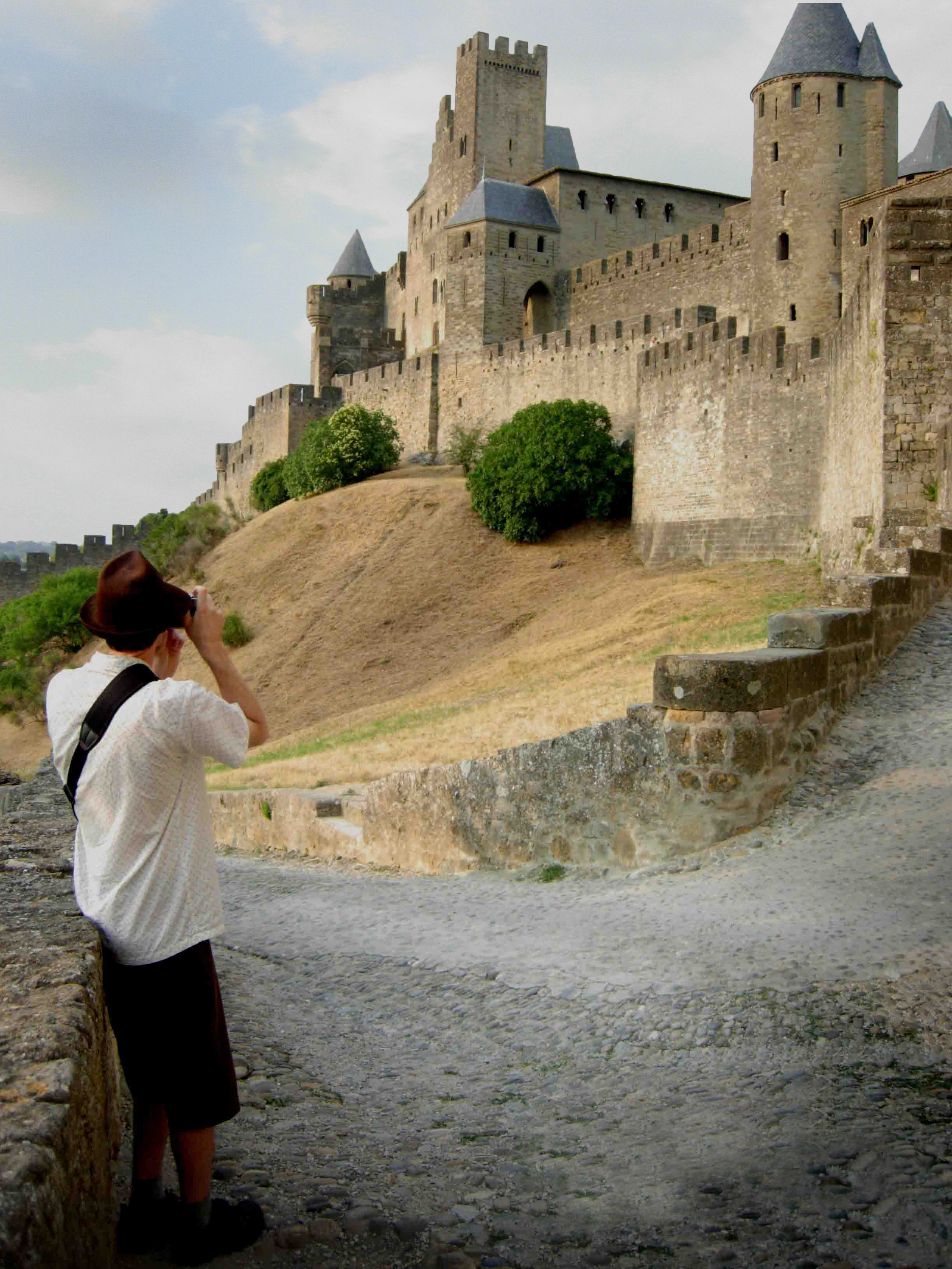 Jeffrey at Carcassonne