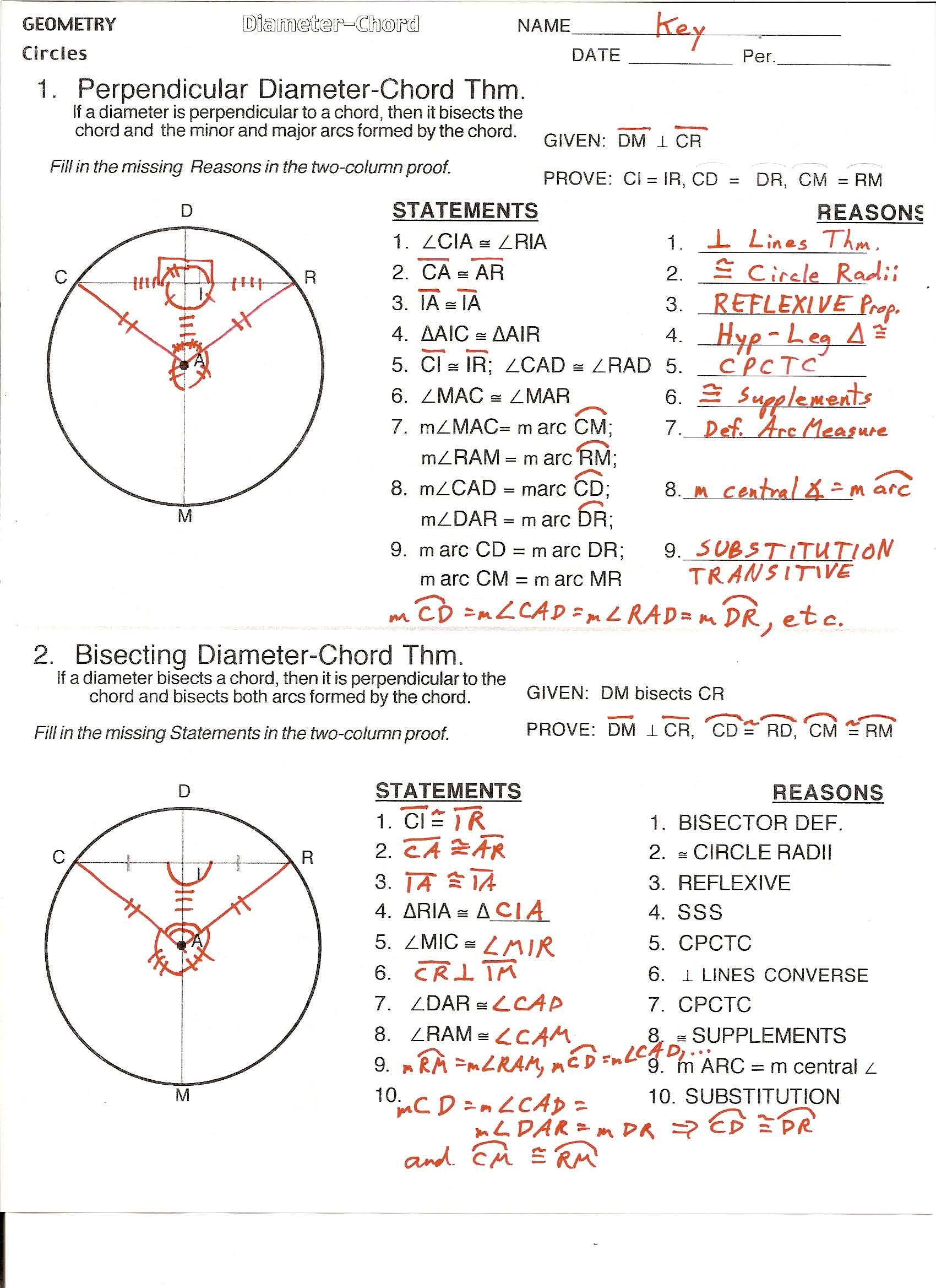 Diameter Chord