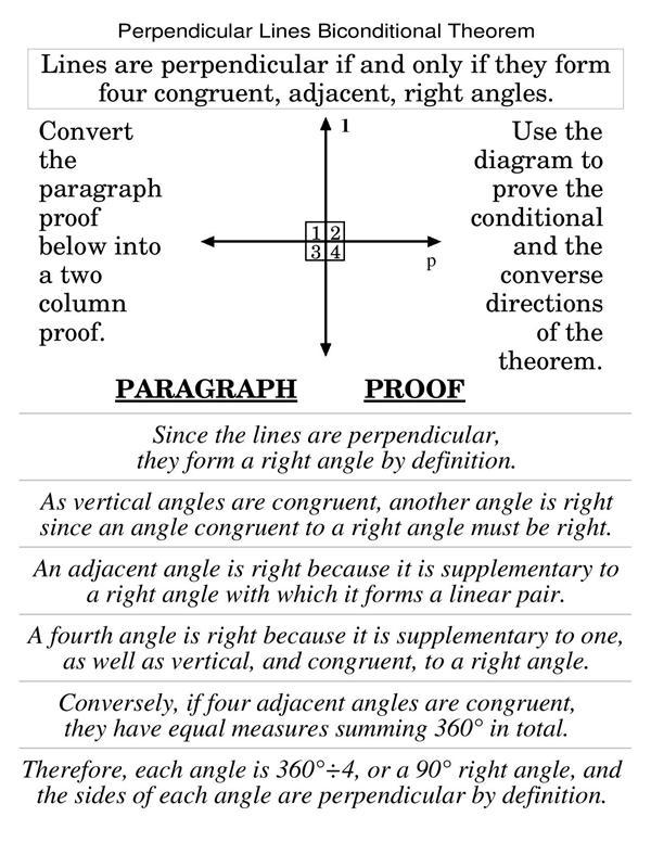 perpendicular paragraph
