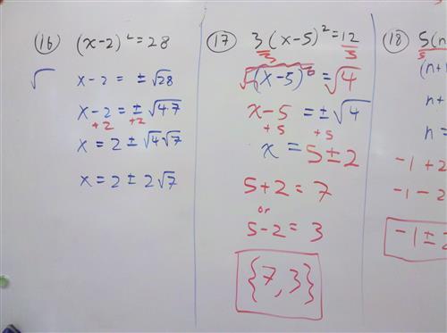 Gebhard Curt Algebra Notes