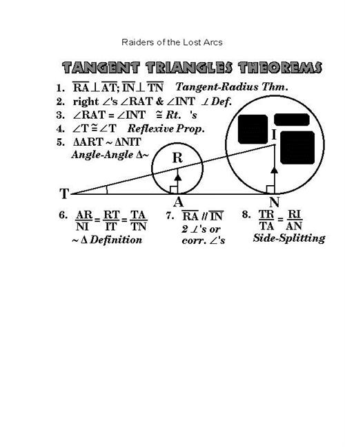 Tangent Triangles