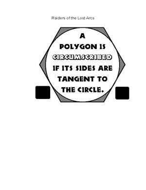 Circumscribed polygon