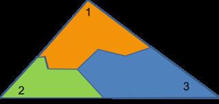 triangle three pieces