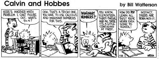 calvin and hobbes imagination