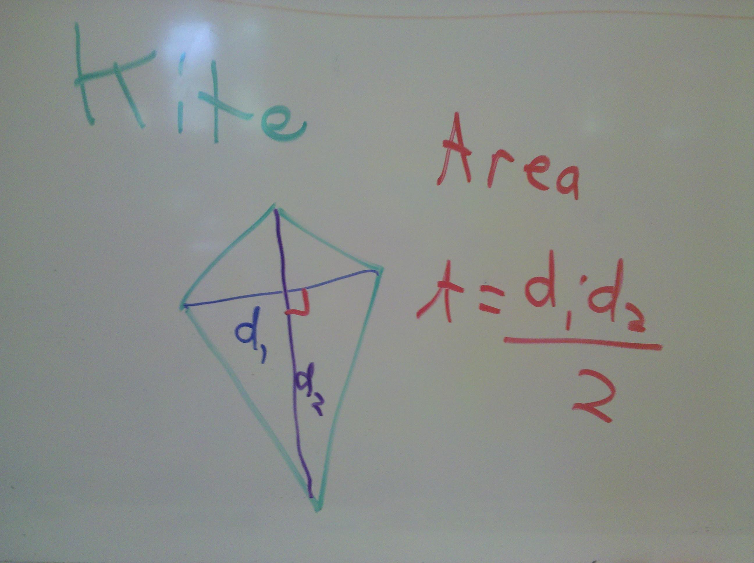 Gebhard Curt Geometrynotes Kite Diagrams Youtube Rhombus Tetragon