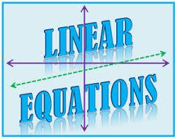 linear equation graphic