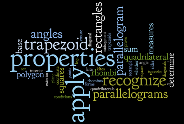 quadrilateral wordle