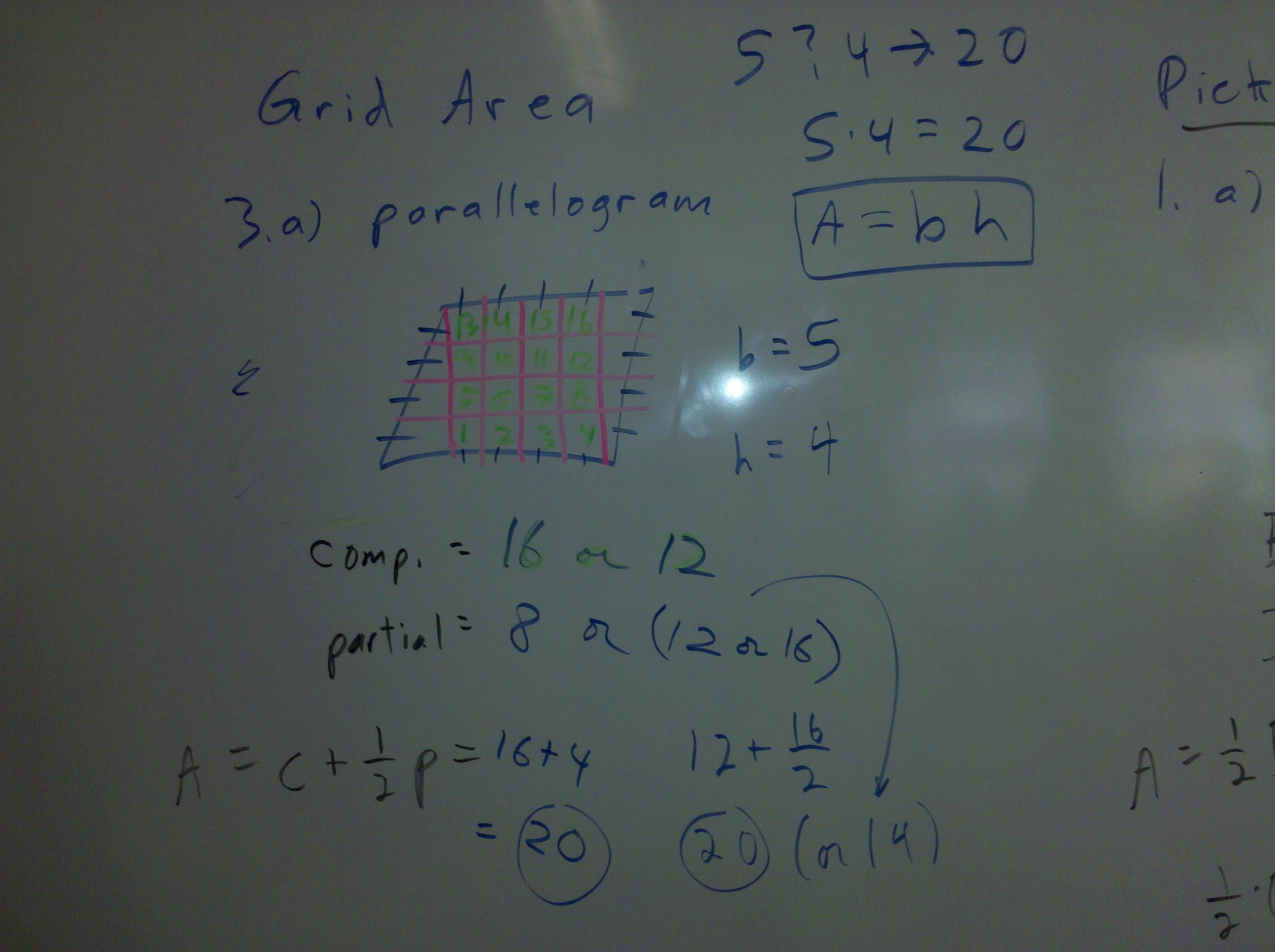 parallelogram grid