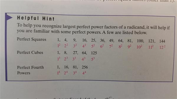 perfect powers