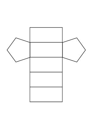 pentagonal prism net