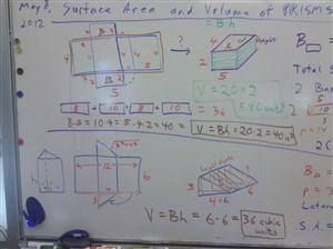 rectangular triangular prisms