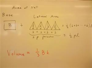 pyramid formulas