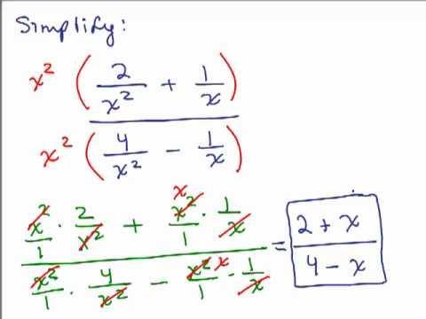 simplify x squareds