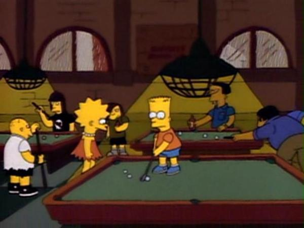 simpsons billiards