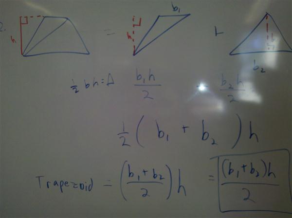 Trapezoid triangles