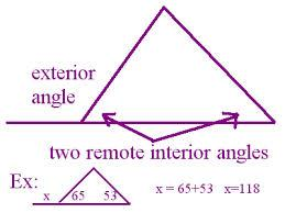 exterior angle example