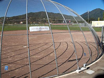 Redwood Dutra softball field