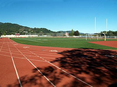 Redwood football field & track