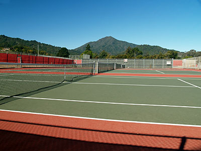 Redwood tennis courts