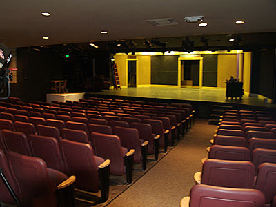 Interior of Redwood Theater
