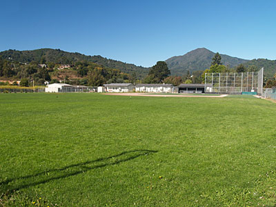 Redwood varsity baseball field