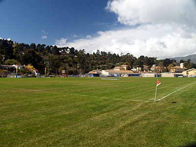 Tam grass soccer field