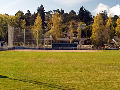 Tam softball field