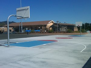 Basketball outdoor