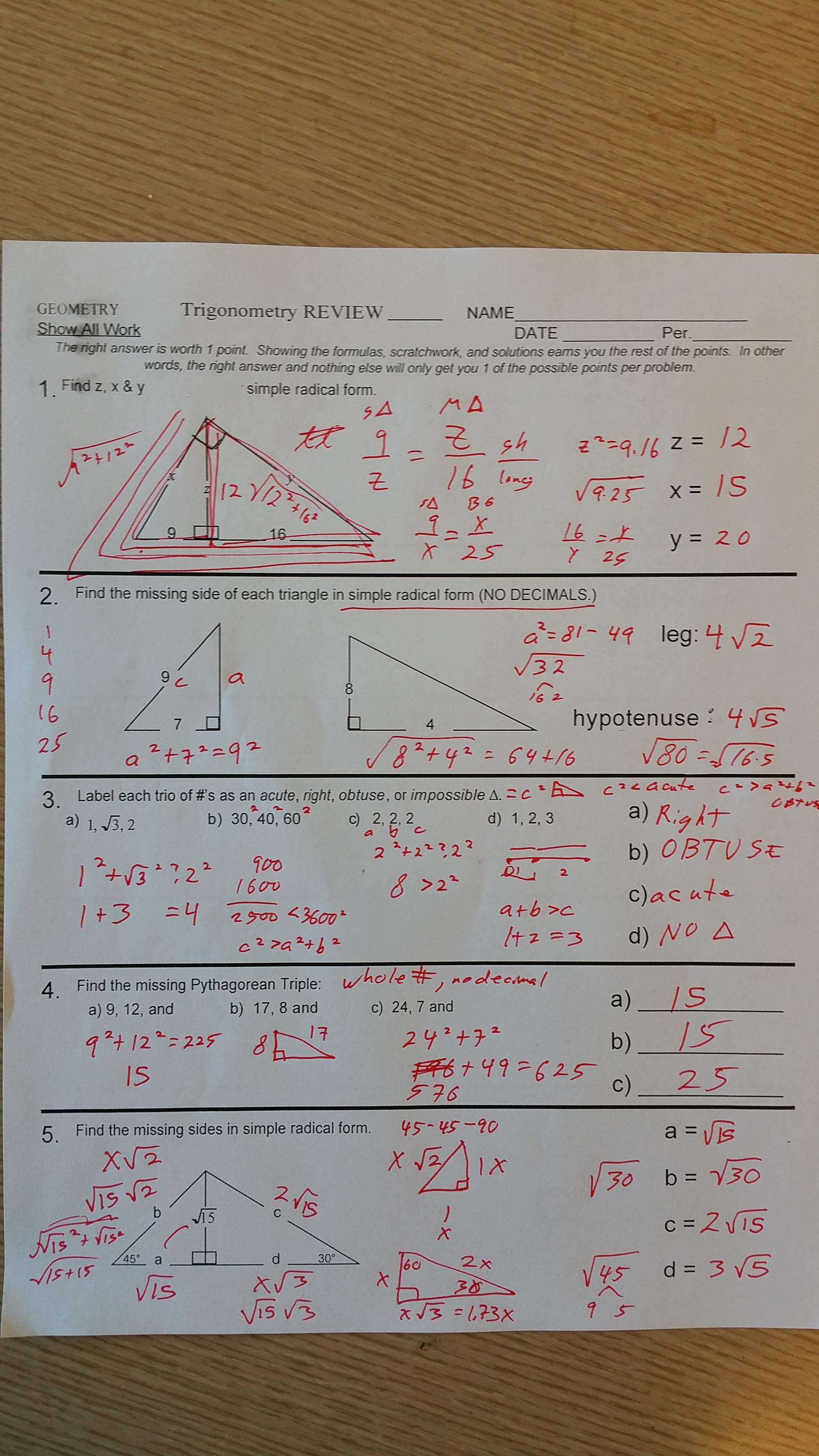 Unit 10 circles homework 6 arc and angle measures